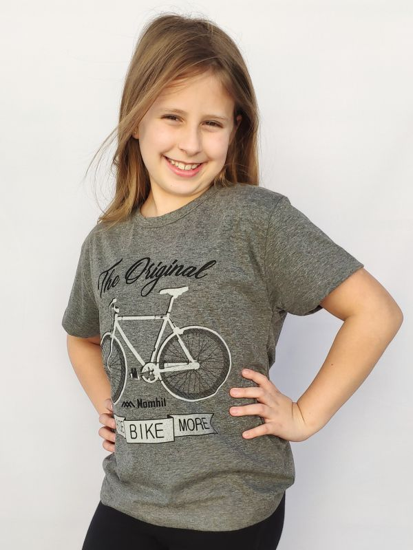 T-Shirt Infantil Ride Bike More