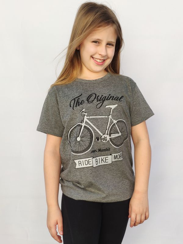 T-shirt juvenil  Ride Bike More